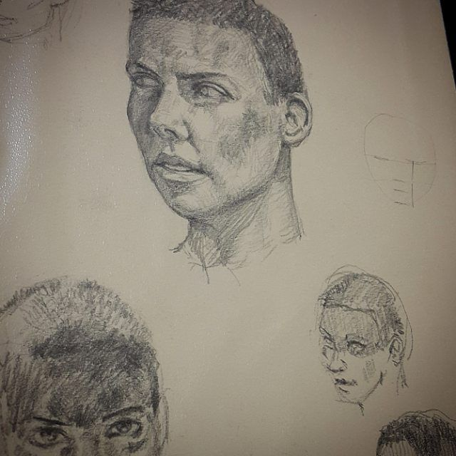 #daily #practice #sketching #sketch #sketches #furiosa #madmaxfuryroad #mad #max #fury #road #furyroad #pencil #face #woman #faces