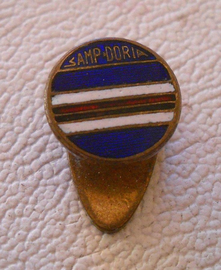 calcio distintivo Sampdoria Genova   pin  badge football soccer