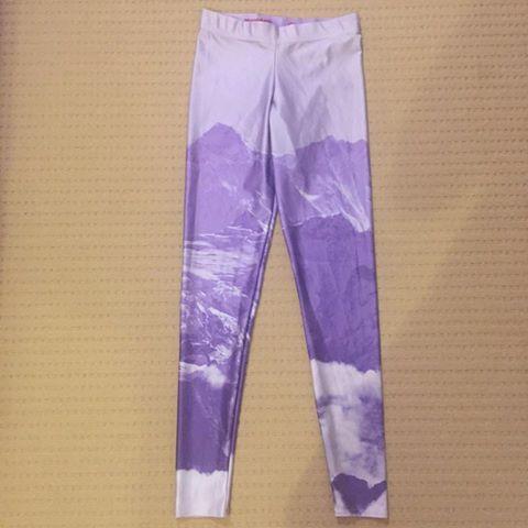 Purple Mountains Leggings- 2014 Brisbane Sample Sale