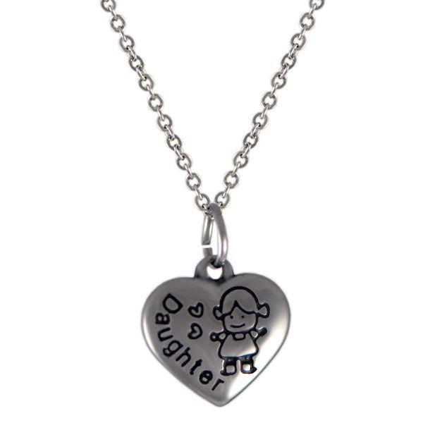 NH3290OC Srdce náhrdelník z chirurgickej ocele : Šperky Swarovski, SuperSperky.sk