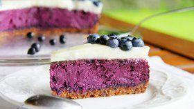 18 variací na téma cheesecake. Dánský borůvkový cheesecake - Blåbær Ostekage