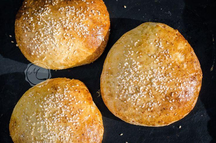 Parmazánové burgerové bulky ~ Mangiare squisito ~ Foodblog