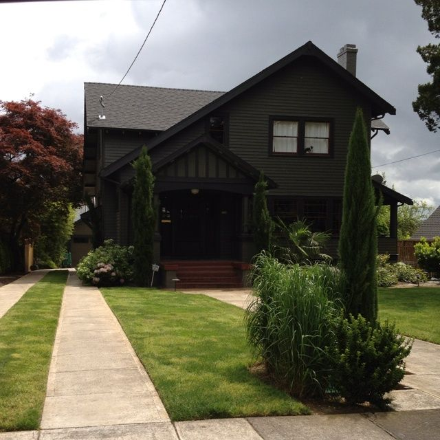 Pinterest discover and save creative ideas for Dark green exterior paint