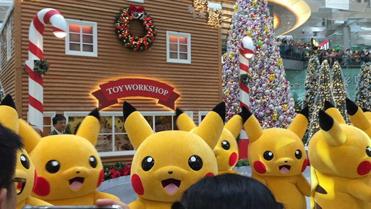 Singapore's Changi Airport hosts First Pikachu Parade