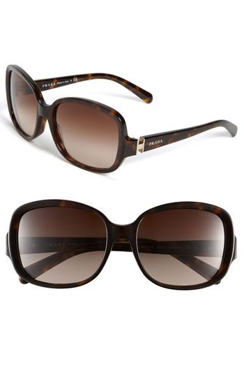 own a pair of classic Prada sunglasses. I have these and I absolutely L.O.V.E them