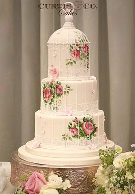 wedding cake award winning best 25 painted wedding cake ideas on unique 21772
