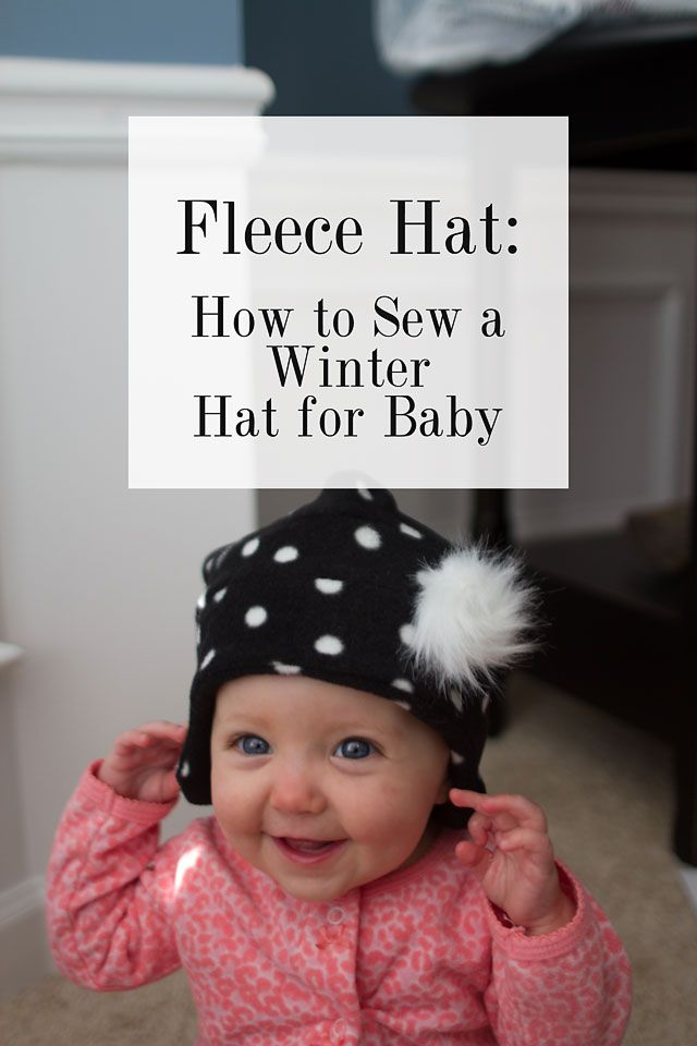 Baby Fleece Hat with Fur | Creative House Blog
