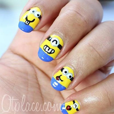 Little tiny minions so cute must try someday!