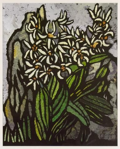 Margaret Preston 'Rock Lily' - Reproduction print on paper