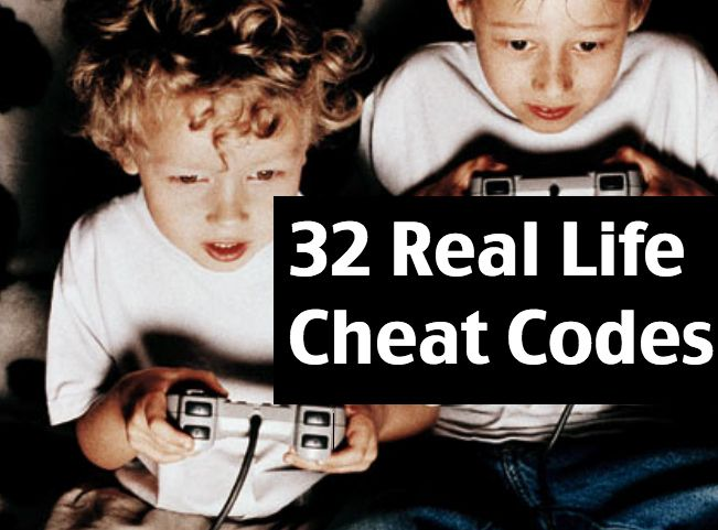 Community Post: 32 Real Life Cheat Codes That Will Change Your Life.