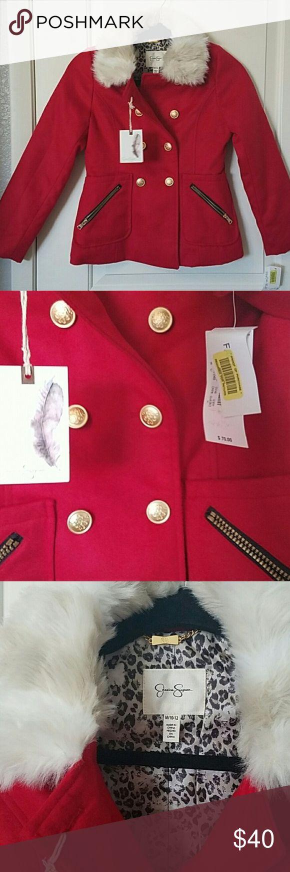 Jessica Simpson Coat Girls Jessica Simpson Coat ~ NWT ~ never worn! Jessica Simpson Jackets & Coats