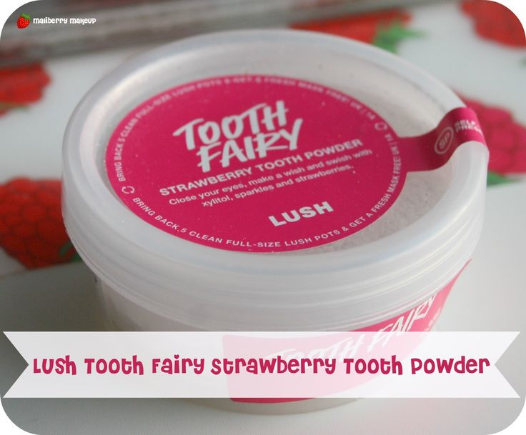 Lush Tooth Fairy Strawberry Tooth Powder Review