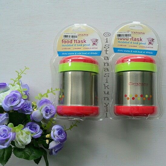Clevamama Insulated Thermal Food Flask (Tahan panas 5 jam) Rp. 200.000