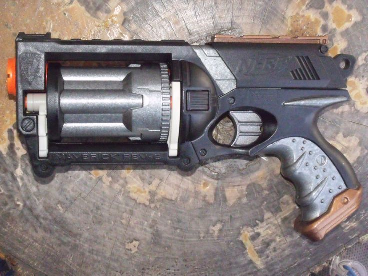 Items similar to Custom Painted Nerf Gun NiteFinder w/ AR Removed, 3 Darts,  Working Red Light on Etsy