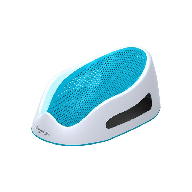 Angelcare Baby Bath Support - Turquoise, White/Blue