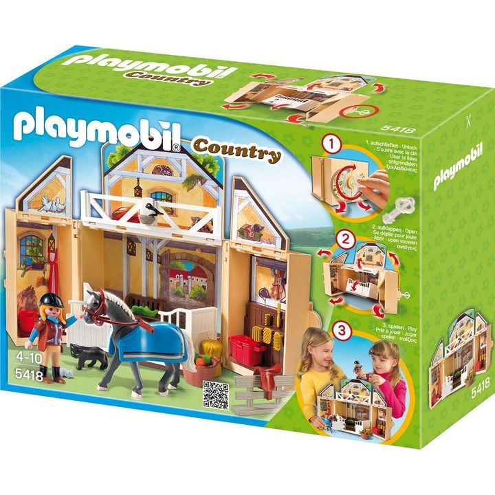 Playmobil Playmobil Stadnina koni Game Box 5418