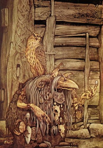 'Brian Froud by Chester the 1st, via Flickr' ~ Dark Crystal.. Would love to go back and watch it again.: