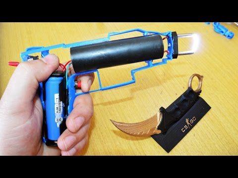 How To make A Stun Gun! (1 million volts) - YouTube