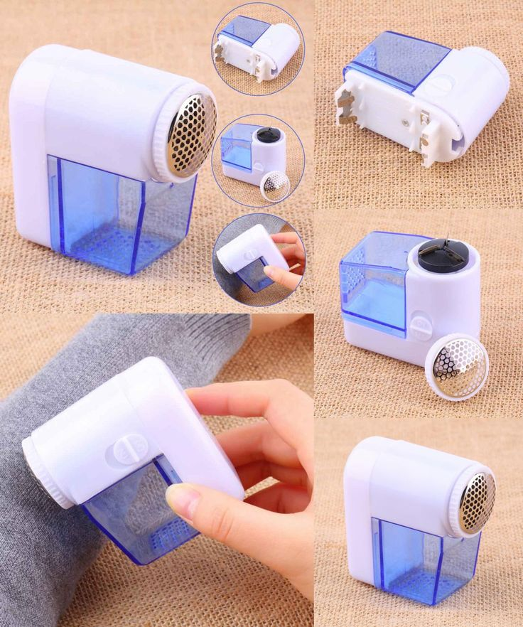 [Visit to Buy] 1Pc Mini Electric Fuzz Cloth Pill Lint Remover Pellets Sweater Clothes Shaver Machine Wool Sweater Fabric Shaver Trimmer #Advertisement