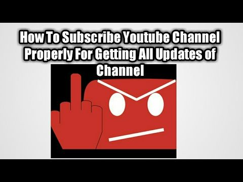 How to subscribe  on youtube channelGet All updates from channel now https://youtu.be/LrBPdhCNl18