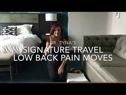 Dr. Tyna's Signature Travel Low Back Pain Moves - YouTube