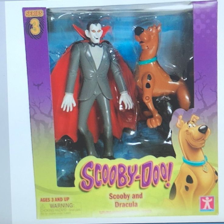 Cool item: Scooby-Doo & Dracula Action Figures