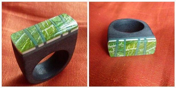 Polymerclay Ring. By Edelchen. Via Flickr.