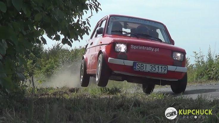 "Szalony kierowca ""malucha"". Piotr Filapek - Fiat 126p Flat out - HoNESKA"