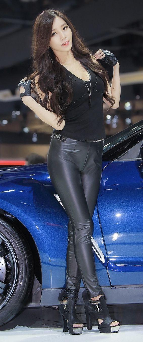 Sleep sins japan leather pants black