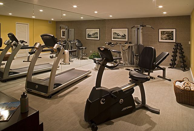 Best images about exercise workout rooms on pinterest