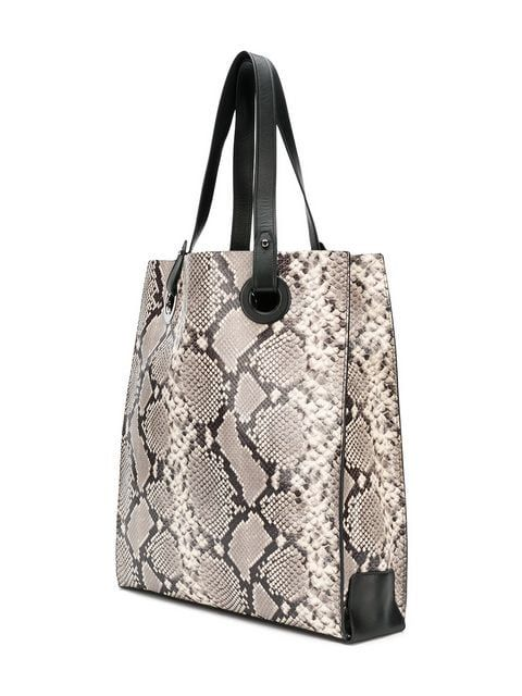 5e59e6c3ec45 Htc Los Angeles snake print tote bag