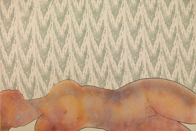 i rulli da tappezzeria nell'arte di Renato Mambor