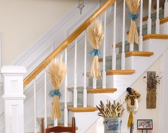 1000 images about banister decor on pinterest banisters for How to decorate a banister