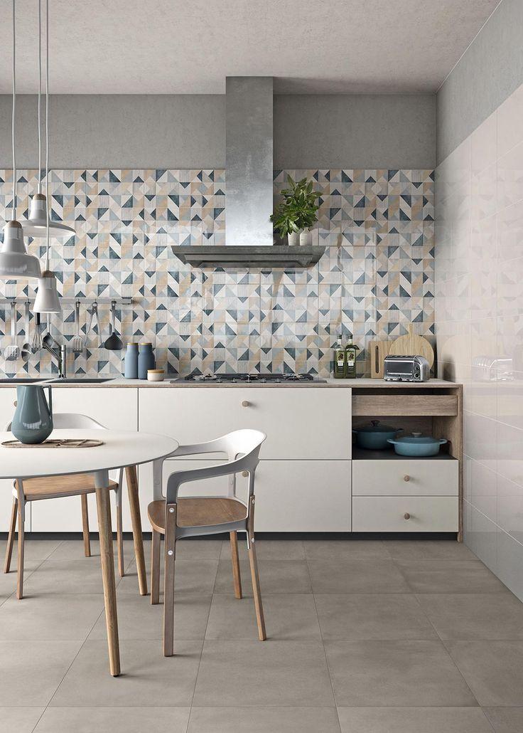 Oltre 25 fantastiche idee su cucina con pavimento in - Piastrelle muro cucina ...