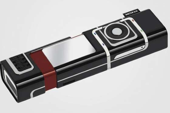 "Nokia's thin phone was dubbed the ""Lipstick Phone"" and was aimed at fashion-forward and young consum... - Nokia"