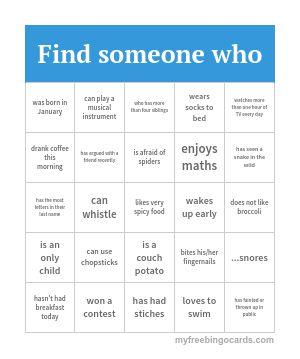 Human Bingo 2                                                                                                                                                                                 More