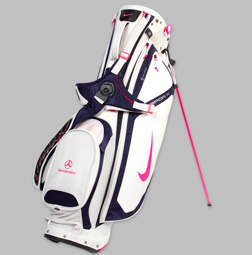 Wonderful Nike Golf Women39s Brassie II Cart Bag  BlackWhitePink