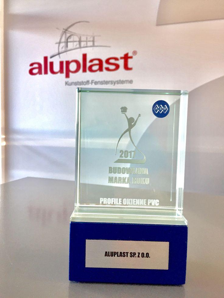 Budowlana Marka Roku 2017 w kategorii 'Profile okienne z PVC' dla aluplast