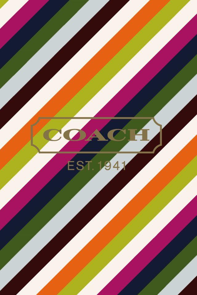 #Colors #Stripes #Coach Coach
