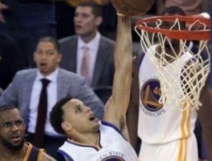 Look at tyron lue's face