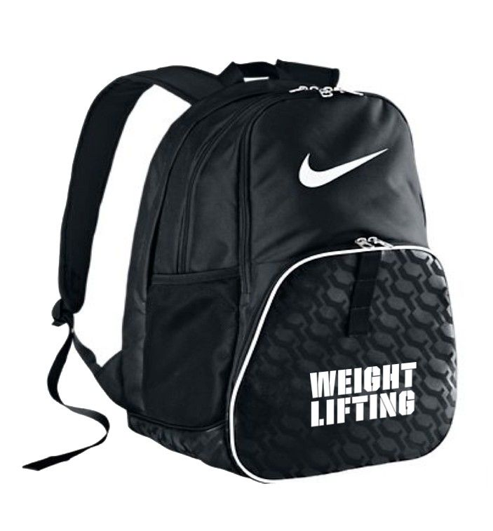 Nike Weightlifting Backpack Health Amp Fitness Pinterest