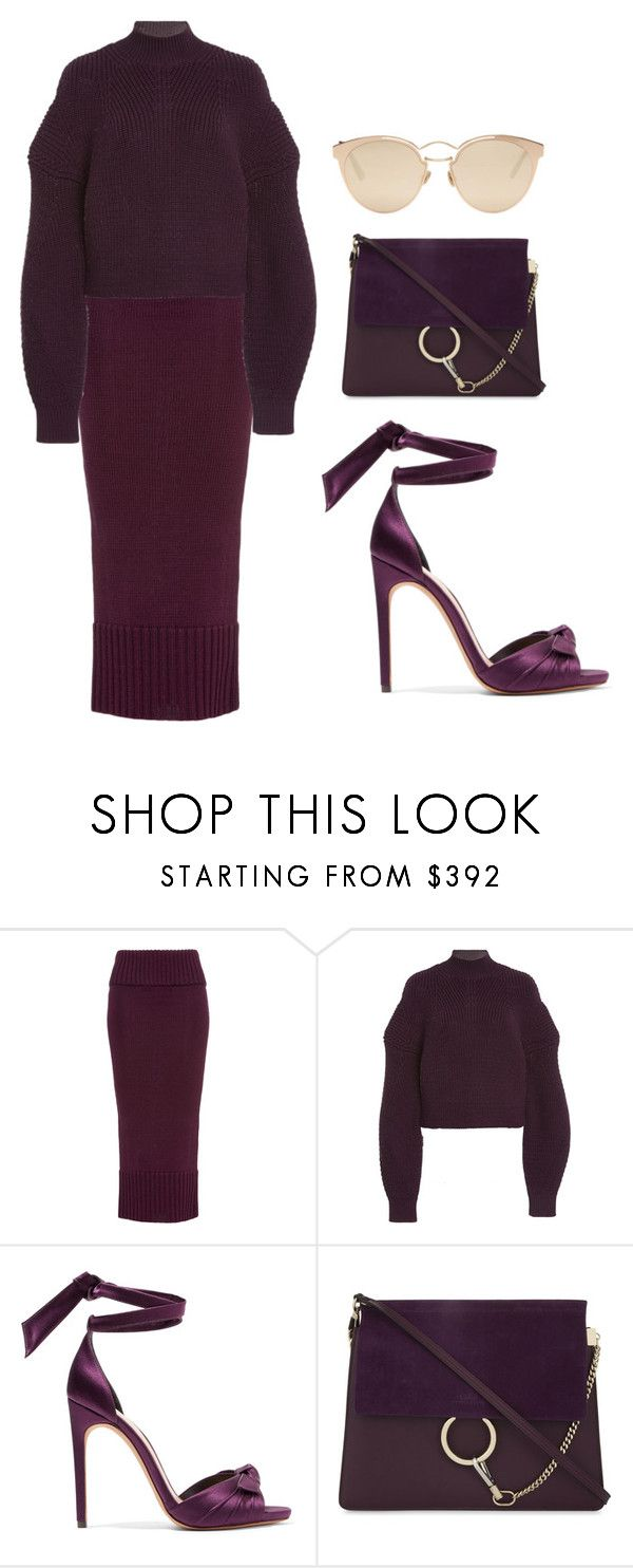 """""""Prune"""" by ale-pink5 ❤ liked on Polyvore featuring Alexandre Birman, Chloé and Christian Dior"""