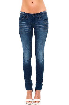 Levis Jeans 524 Skinny Jean in Foil Abrasion Black