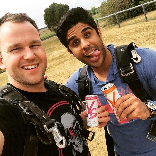 Just jumped out of a plane with @theogalanjr from 14000ft! Finishing off with some XS goodness! #2ndGen #xsenergy by dommckenna
