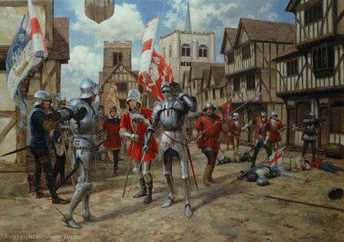 Graham Turner -Battle of St. Albans, 1455.