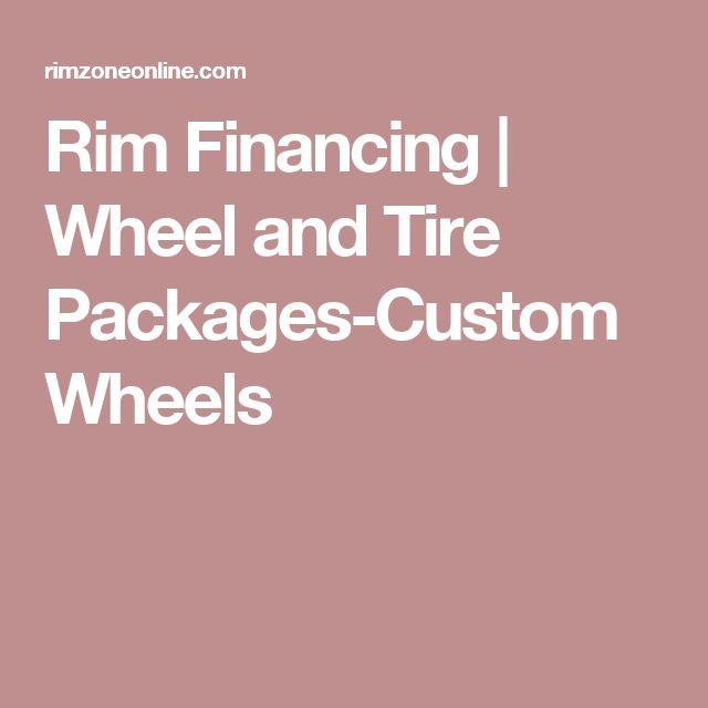 Rim Financing | Wheel and Tire Packages-Custom Wheels