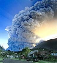 Chaiten Volcano Chile