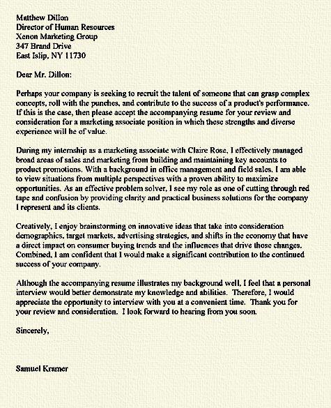 25+ unique Cover letter for internship ideas on Pinterest Job - resume for internship