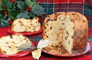 Cómo hacer panettone de Navidad #postre #receta #comida #dulce
