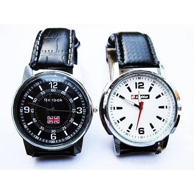 Combo Of Lottto And  Reebok Watch At Rs 399